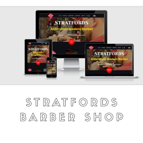Jamudesign Portfolio Stratfords Barber Shop