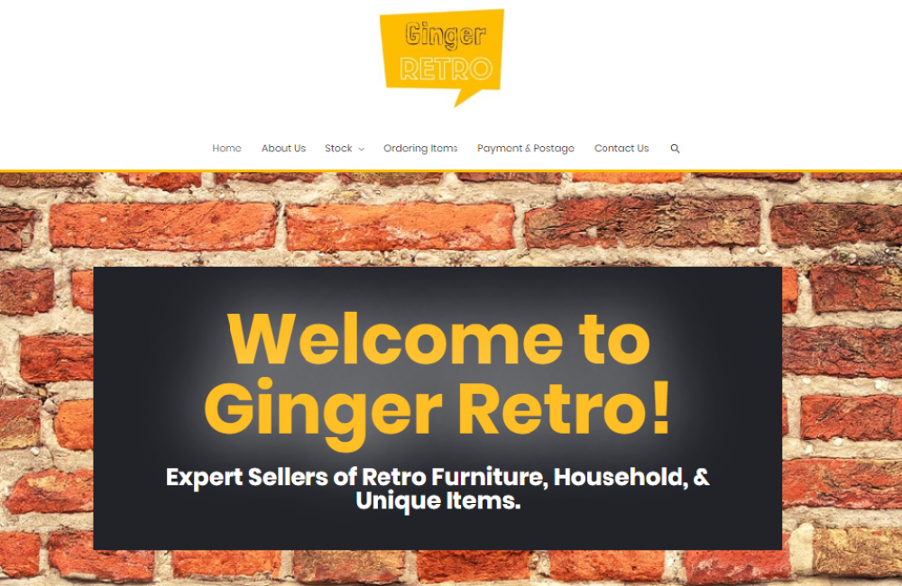Ginger Retro by Jamu Design