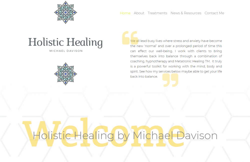 Jamudesign Portfolio MD Holistic Healing